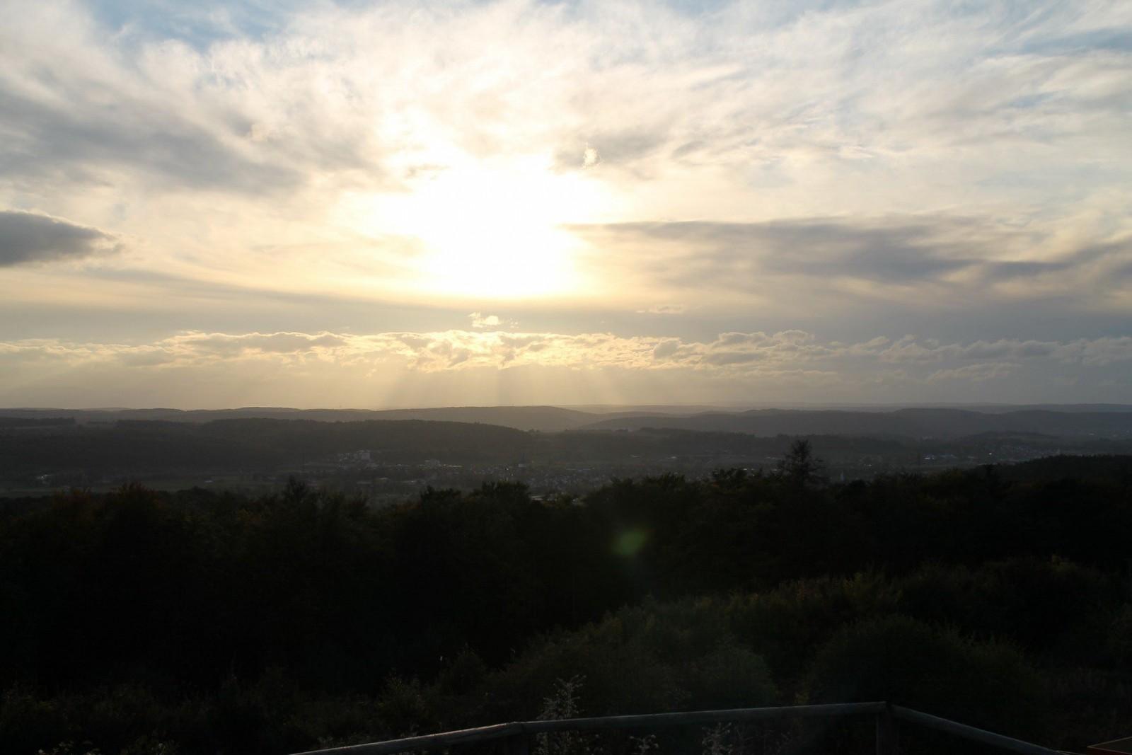 Sunset in Leonberg